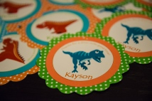 Dinosaur party theme