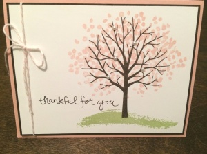 Beautiful thank you card